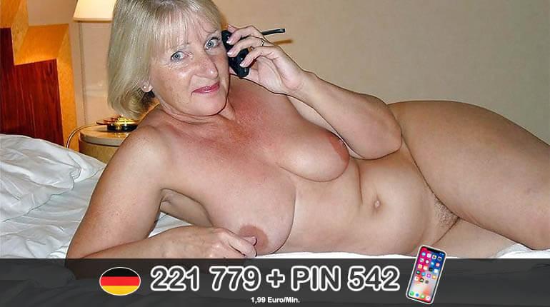 Geiler Telefonsex mit alter Frau über 60
