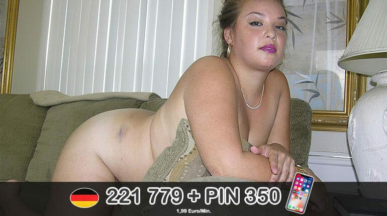 Molliges Girl beim BBW Telefon Sex