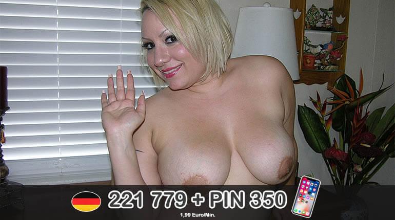 Versauter Telesex mit dicke Frau aus Deutschland